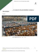 Plataformas online vs comercio de proximidad, ventajas y desventajas