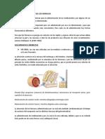 1 VIAS DE ADMINISTRACION DE LOS FARMACOS
