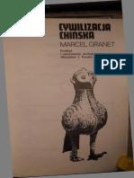 Marcel Granet - Cywilizacja Chińska