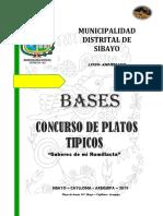 CONCURSO DE PLATOS TIPICOS