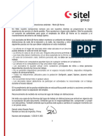 Ltr to Employees re Confidentiality Obligationsdp (Spanish) (002)
