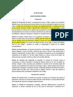 2014-07-16  RESUMEN CODIGO NACIONAL DE MINAS