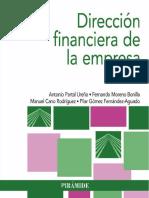 Dirección financiera de la empresa Partal Ureña, Antonio