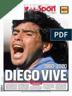 Diego Armando Maradona - Sport Italiano - Giornale