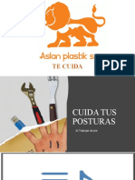 presentacion CUIDA TUS POSTURAS