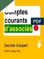 Comptes courants d'associés_Maroc ??