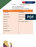1° PRODUCTO 02 AUTORETRATO