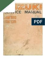 Suzuki RM100,125M,S,A  '75-'76  service manual