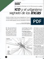 Cusco y el urbanismo sagrado de los Incas