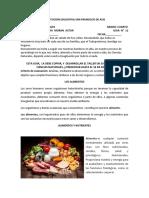 Los alimentos Guia  No.12