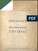 victorricogonzalez iniciacion a la historiografía universidad de mexico 1946