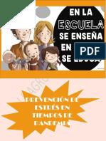 PREVENCIÓN DE ESTRÉS
