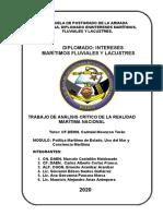 TRABAJO DE ANÁLISIS CRÍTICO DE LA REALIDAD MARITIMA NACIONAL (1)