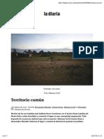 Territorio común   la diaria   Uruguay