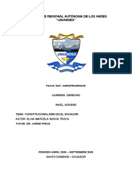 CONSTITUCIONALISMO ECUADOR