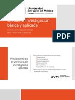 Unidad 1 Investigación básica y aplicada