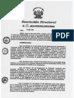 RD 128-2014-DGAA Certificación Ambiental Proyecto Saneami Ento Chumo
