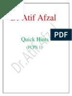 Dr Atif Afzal fcps