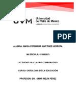 ACTIVIDAD 10 CUADRO COMPARATIVO EDUCACIÓN EN FINLANDIA VS MEXICO