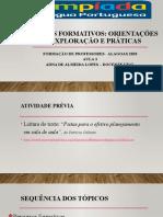 SLIDES AULA 3_PowerPoint_PERCURSOS FORMATIVOS