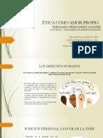 Presentación tesis Derechos Humanos