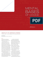 Mental base of choice Ukrainian