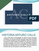 Presentación Arturo calle