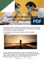 Visión de la Terapia Gestalt en la Pandemia