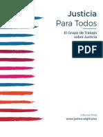INFORME JUSTICIA PARA TODOS