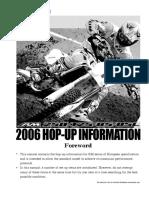 RM85,125,250K6  '06                Race preparation manual