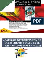 ANALISIS - INTERPRETACIÓN SEGURIDAD Y SALUD EN EL TRABAJO