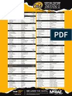 2021 OMFNL Fixture