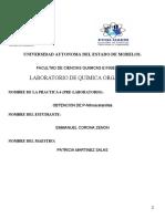 Pre-laboratorio6 lab organica2OBTENCION DE P-Nitroacetanilida