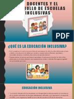 12- Los docentes y el desarrollo de escuelas inclusivas