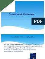 Presentación des oberania de guatemala