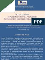 017 EM QUESTÃO - Análise da ADUEMS (ppt)