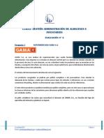 Gestión y Administración de Almacenes e Inventarios - Evaluación N° 2