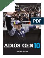 Suplemento especial de LA CAPITAL por Maradona