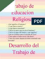 Trabajo de Educacion Religiosa