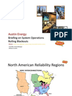 Austin Energy Briefing on System Operations Rolling Blackouts