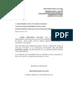 DESIGNACIÓN DE ABOGADO