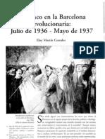 Flamenco en la Barcelona revolucionaria julio de 1936 - mayo de 1937