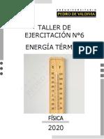 Taller Energía Térmica