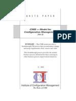 White Paper - ICM - CMII Model - RevB