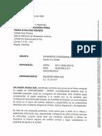Plan de Verdad de Arana-26/11/2020