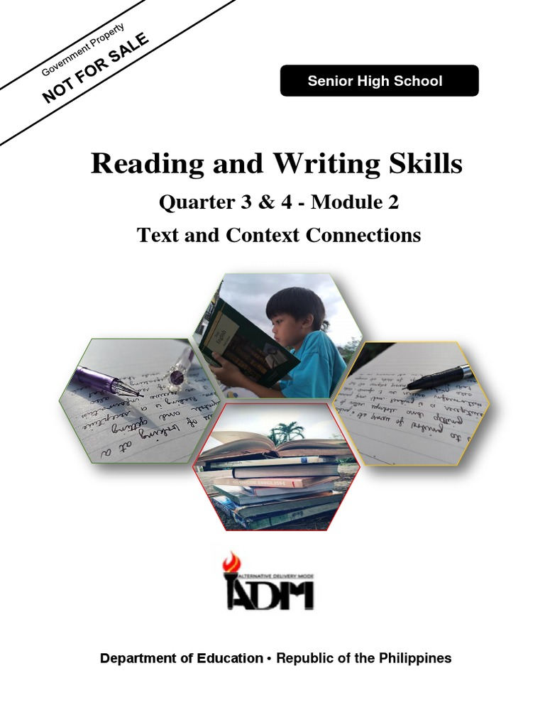 Reading And Writing Module 2 Part 1 Intertextuality