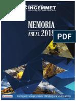 Memoria_INGEMMET_2018.pdf