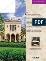 AHQUA Manor House Catalog