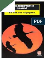 Le Vol Des Cigognes - Grange,Jean-Christophe.epub