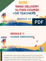 LDM2 MODULE 1 5 for Teachers